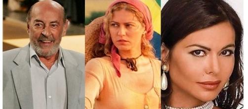 Eles fizeram muito sucesso na novela ( Fotos - Reprodução/Internet/Rede Globo)