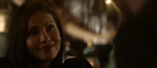 "Episode 3 of ""Lucifer"" season 3 reveals who Maze became a bounty hunter. (Photo:YouTube/TVPromosDB)"