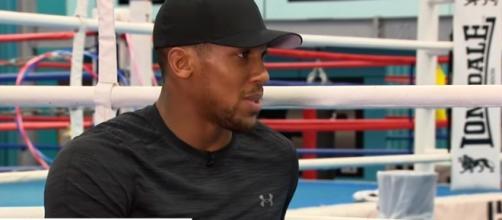 Exclusive: Anthony Joshua talks fights, fame and fatherhood - Image - Sky News | YouTube