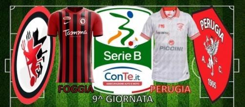 Foggia e Perugia si sfideranno nella nona giornata del campionato di Serie B ConTe.it 2017/18