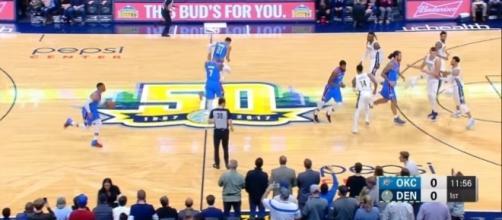 NBA preseason [Image via Rapid Highlights/YouTube screencap]