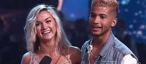 "Jordan Fisher shared ""Most Memorable Year"" on ""Dancing with the Stars"" [Image: Anna Marie/YouTube screenshot]"