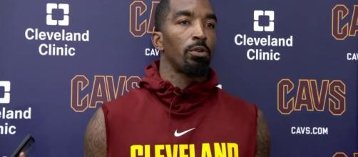 J.R. Smith talks about losing the starting spot over Dwyane Wade. (Image Credit - ESPN/YouTube Screenshot)