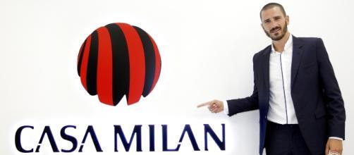 Leonardo Bonucci ufficialmente al Milan