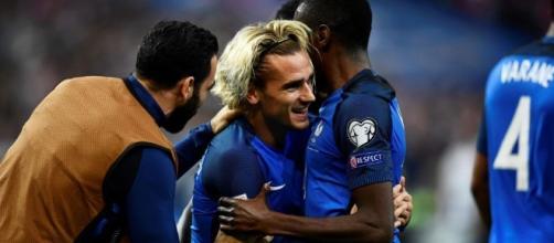 L'équipe de France en Russie 2018