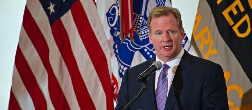 NFL Commissioner Roger Goodell [Image via SSG Terry Wade/Wikimedia Commons]