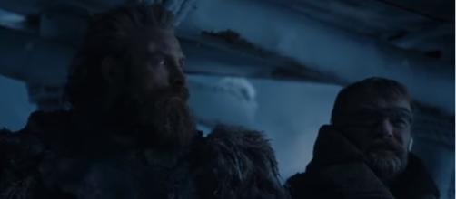 Night King and Viserion arrive at The Wall - Beric and Tormund - Game of Thrones Season 7 | Image Credit: Ben Quincy-Shaw/YouTube
