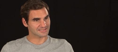 Roger Federer during a pre-tournament interview in Shanghai/ Photo: screenshot via ATPWorldTour/YouTube