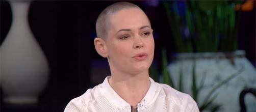Rose McGowan remains vocal about her thoughts on the Harvey Weinstein scandal. (Chelsea/YouTube)