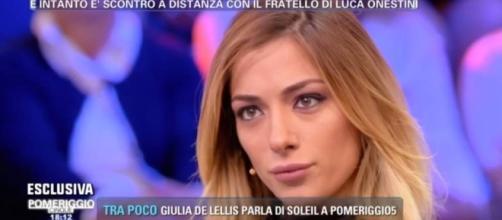 Soleil Sorge in lacrime a 'Pomeriggio 5' - isaechia.it