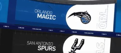 Spurs versus Magic - Image Credit: Allstar Channel/YouTube