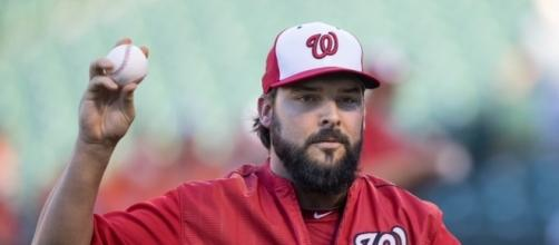 Tanner Roark gets the start for the Nationals in Game 4. Image Source: Flickr | Keith Allison