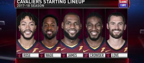 The Cavs starting five is filled with seasoned stars - Ximo Pierto https://youtu.be/OzaDkYlYQwo
