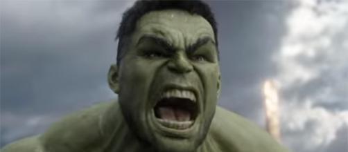 """The Hulk returns in the upcoming """"Thor: Ragnarok,"""" this November. (Marvel Entertainment/YouTube)"""