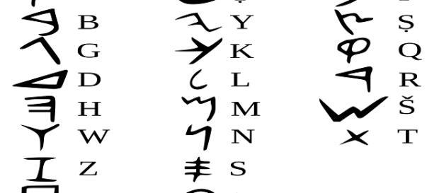 Alfabeto fenício, um importante legado