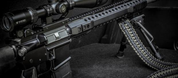 Image of an AR-15 -- Brett/Flickr.