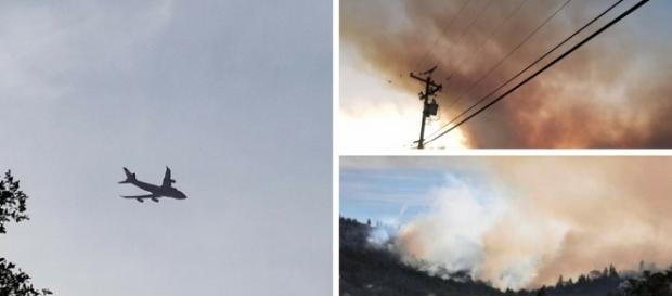 Californai wildfires Pictures by Louann Carroll, (Own work)