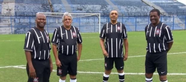 Heróis do título do Corinthians em 1977
