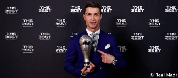 Ronaldo, entre los tres candidatos al Premio The Best al jugador de la FIFA de 2017