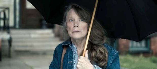 "Stephen King inspired ""Castle Rock"" has a new teaser trailer [Image credit Sissy Spacek Hulu/YouTube]"