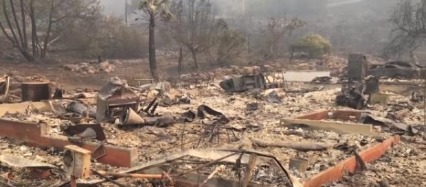 Wildfire in California creates massive damage credit/ Youtube/ Guardian Wires