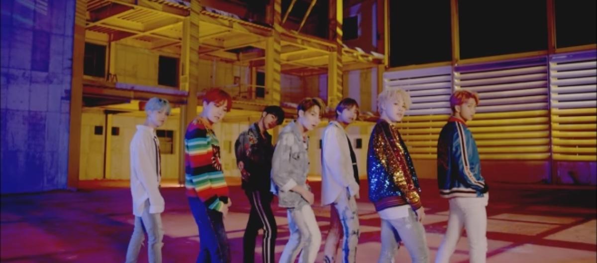 BTS' 'DNA' MV hits 100 million views on YouTube