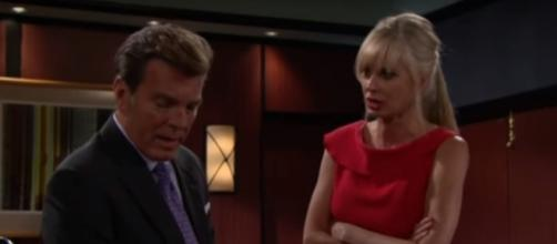 Ashley and Jack find out that Graham is the biological son of Brent Davis. [Image via CBS/YouTube]