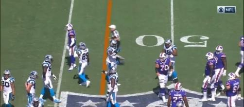 Bills and Panthers are doppelgangers for offense problems [Image credit via You Tube/screencap]