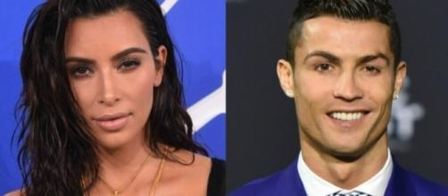 C'était très chaud entre Cristiano Ronaldo et Kim Kardashian !
