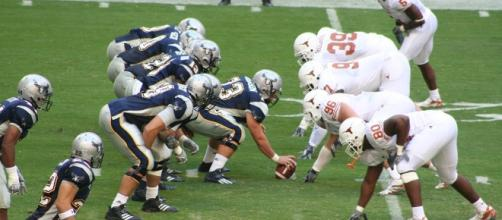 College football looks this bland right now. [Image via Johntex/Wikimedia Commons]