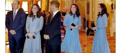 Duchess Kate is body shamed for not having a bigger belly bump [Image: The Royal Family/YouTube screenshot]
