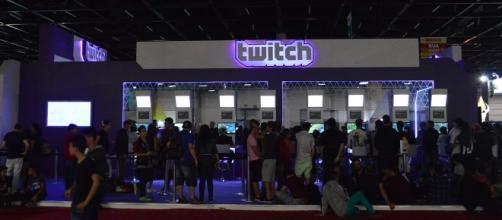 Estande do Twitch evento passado da BGs. Esse ano, a BGS Talks contará com presenças ilustres como Danilo Gentilli e youtubers gamers