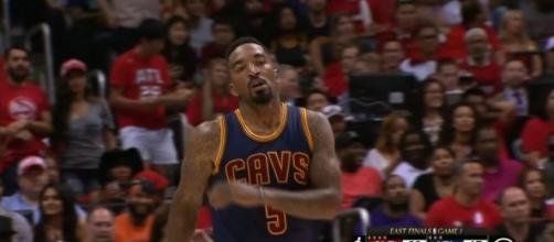JRSmith ClevelandCavaliers [Image via NBA/YouTube screencap]