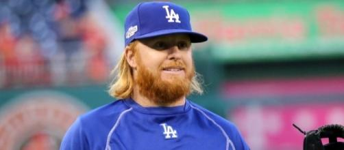 Justin Turner had a home run and five RBIs in Game 1. Image Source: Wikimedia Commons