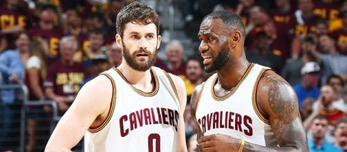 K-Love talks LeBron's leadership - (Image Credit: NBA/YouTube)