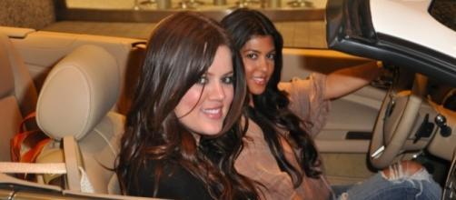 Kourtney and Khloe Kardashian [Image via Vanessa Lopez/Flickr]