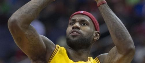 LeBron James; (Image Credit: Keith Allison/Wikimedia Commons)