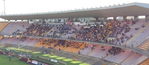 Pochi spettatori per Lecce- Akragas