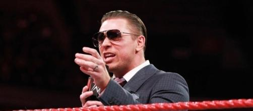 The Miz is going to be back on MTV for a little bit starting next month. [Image by WWE/YouTube]