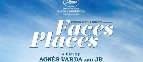 Theatrical poster 'Faces Places' (used by permission Cohen Media Group)