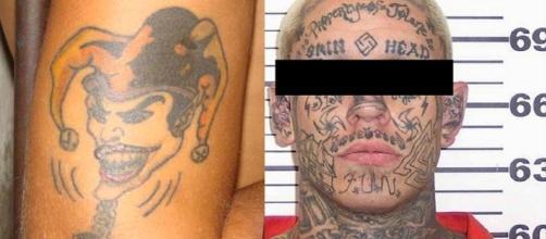 Veja o que as tatuagens de cadeia significam ( Fotos - Reprodução )