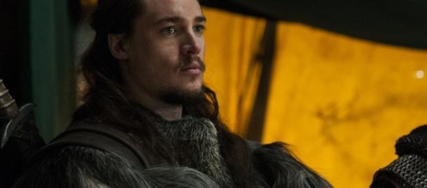 Alexander Dreymon is Uhtred of Babbenburg in 'The Last Kingdom' [Image via Netflix Media Center]