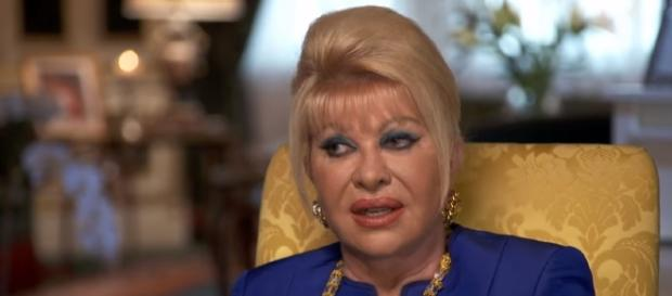 Ivana Trump in one of the stills during her recent interviews - [Image via YouTube/CBS Sunday Morning]