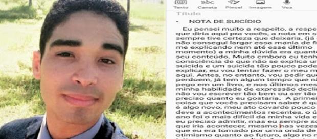 Jovem testemunha de Jeová e sua carta deixada antes de seu suicídio
