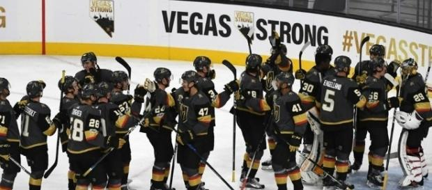 Las Vegas Golden Knights. [Image Credit: GoldenKnights/Twitter]