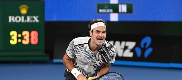 Roger Federer prepares for greater success at Australian Open 2018 [Image via Australian Open/Twitter]