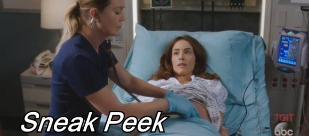 "Sneak peek of ""Grey's Anatomy"" Season 14, episode 4. (Image Credit - Grey's Anatomy Grey Sloan/YouTube Screenshot)"