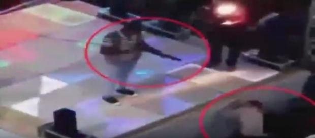 Video footage shows 14-year-old boy, Ayman Alaa, shot to death at a wedding in El Hamool, Egypt. Photo via Josineide Bina/YouTube.
