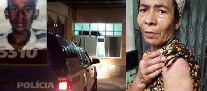 Após agredir a própria mãe com um porrete, jovem recebe três tiros na Bahia