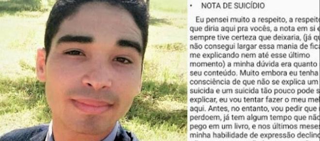 Jovem testemunha de Jeová se suicida e carta de despedida choca com revelação